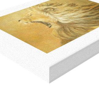 Hear Me Roar! Canvas Print
