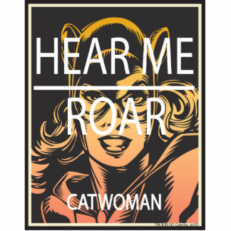 Hear Me Roar Photo Cutouts