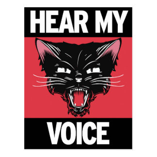 Hear My Voice Postcard