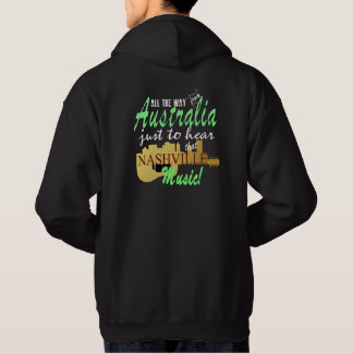 Hear Nashville Music from Australia Men's Hoodie