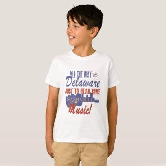 Hear Nashville Music from Delaware Kid's T-Shirt