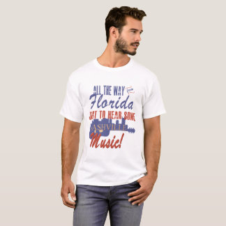 Hear Nashville Music from Florida Men's T-Shirt
