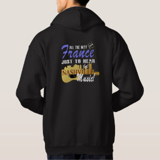 Hear Nashville Music from France Men's Hoodie