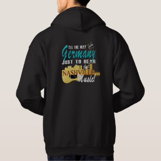Hear Nashville Music from Germany Men's Hoodie