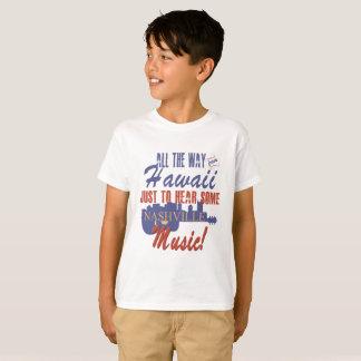 Hear Nashville Music from Hawaii Kid's T-Shirt