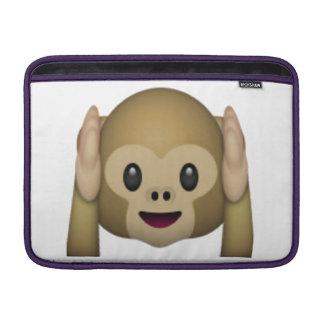 Hear No Evil Monkey - Emoji Sleeve For MacBook Air