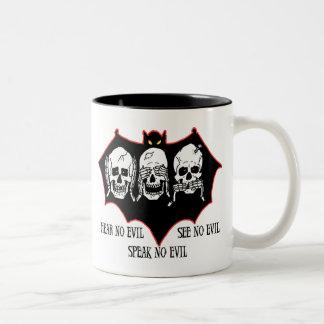 Hear no evil, see no evil, speak no evil Mug Coffee Mugs
