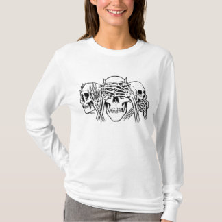 hear no evil see no evil speak no evil T-Shirt