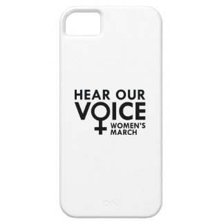 Hear Our Voice iPhone 5 Cover
