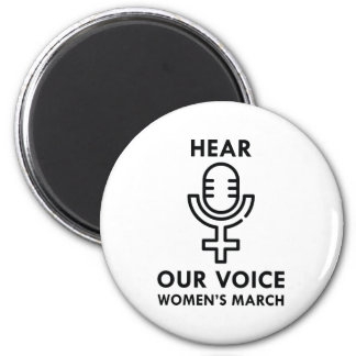 Hear Our Voice Magnet