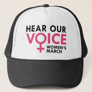 Hear Our Voice Trucker Hat
