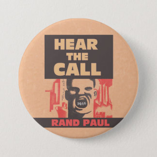Hear The Call 7.5 Cm Round Badge