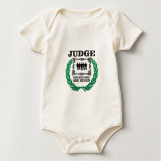 hear two side of issue baby bodysuit
