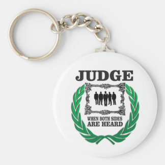 hear two side of issue key ring