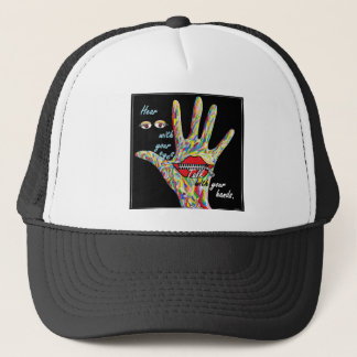Hear with Your Eyes Trucker Hat