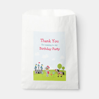 Hear Ye African American Knight Birthday Party Favour Bag