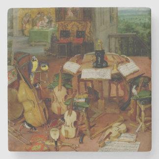 Hearing, 1617 stone coaster