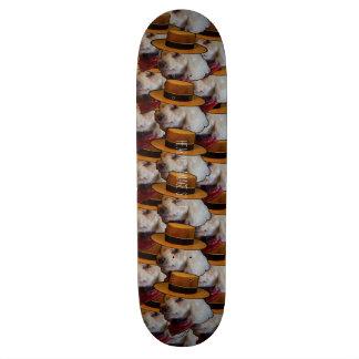 Hearing Damage Studios Deck 21.3 Cm Mini Skateboard Deck