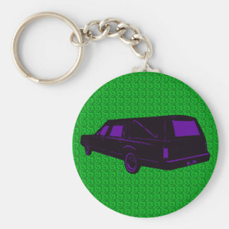 Hearse Key Ring