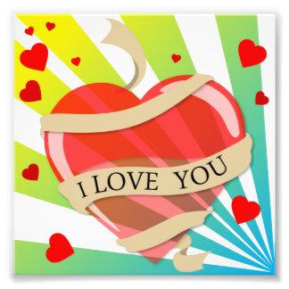 heart11 VECTOR HEART LOVE YOU COLORFUL HAPPY CARIN Photo Art