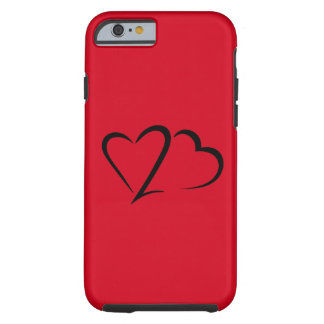 Heart 23™ Brand Red Tough iphone Case