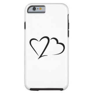 Heart 23™ Brand White Tough iphone Case