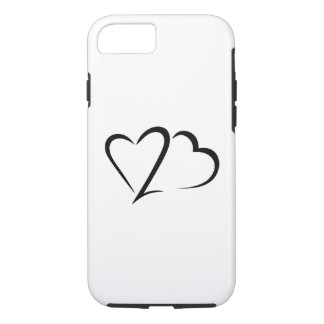 Heart 23™ Brand White Tough iphone Case