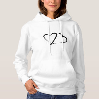 Heart 23™ Brand Women's White Hoodie