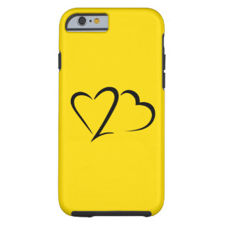 Heart 23™ Brand Yellow Tough iphone Case