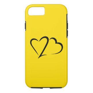 Heart 23™ Brand Yellow Tough iphone Case