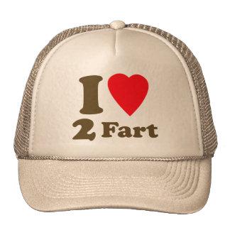 Heart 2 Fart Pass the Gas Silent Deadly Love Cap