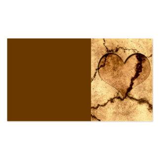 heart-401499 heart dirty dirt structure ground ear business card template
