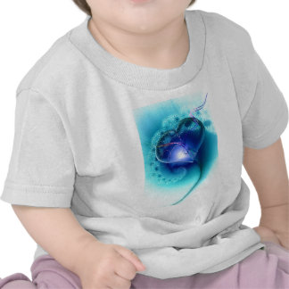 heart-64138 heart fractal fractals romantic playfu tee shirts