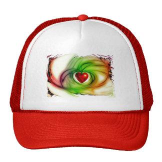 heart-68196 heart love luck abstract relationship trucker hats