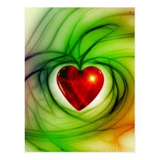 heart-68196 heart love luck abstract relationship post card