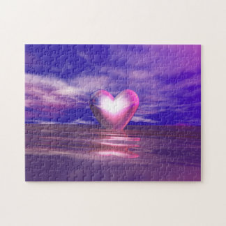 Heart Afloat Jigsaw Puzzle