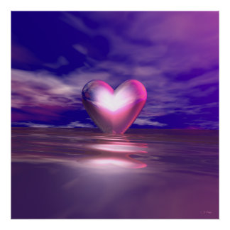 Heart Afloat Posters