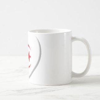 Heart Algérie flag coils Coffee Mug