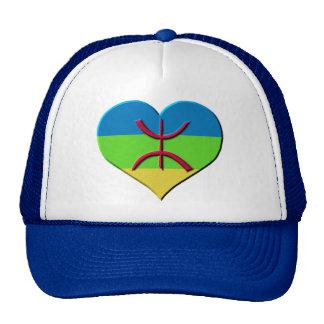 Heart amazigh, kabyle, berbere cap