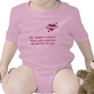 heart_&_arrow_3, My  daddy's heart is fille... Tshirt