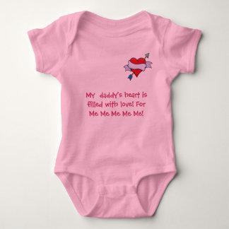 heart_&_arrow_3, My  daddy's heart is fille... Tee Shirt