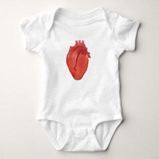 Heart Anatomy design Baby Bodysuit