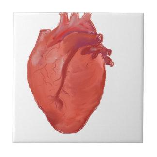 Heart Anatomy design Ceramic Tile