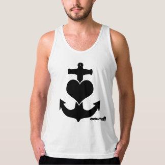Heart Anchor Singlet