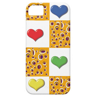 heart and abstract case for the iPhone 5