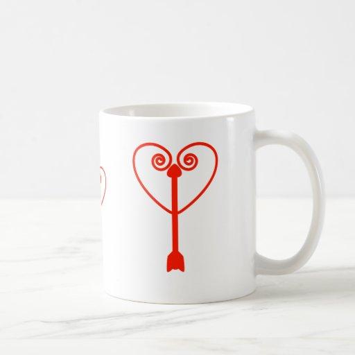 Heart and Arrow Mugs
