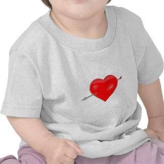 Heart and Arrow T Shirts