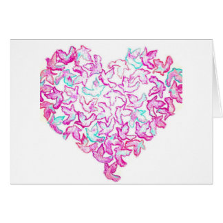 Heart and Dove Card