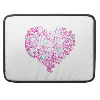 "Heart and Dove MacBook 15"" Sleeve"