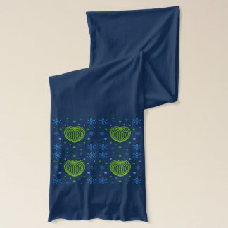 Heart and Flower Medley Scarf